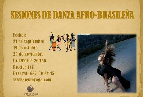 Sesiones de Danza Afro-Brasileña