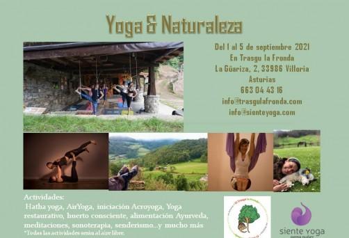 Retiro de Yoga y Naturaleza en Asturias