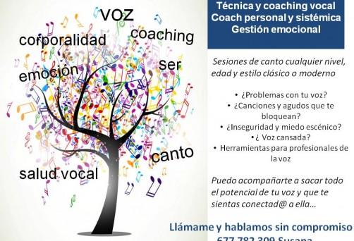 Clases de Voz, Canto y mucho más con Susana Alonso