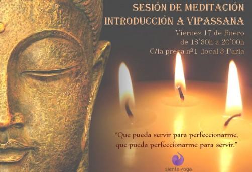 Introducción a la meditación Vipassana